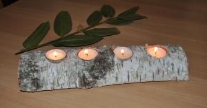 kerzenhalter f r 4 teelichter online kaufen. Black Bedroom Furniture Sets. Home Design Ideas